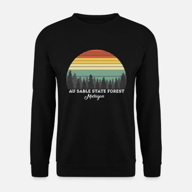 Michigan Au Sable State Forest Michigan - Unisex sweater