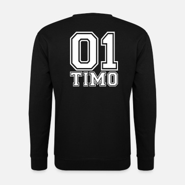 Timo Timo - Naam - Mannen sweater