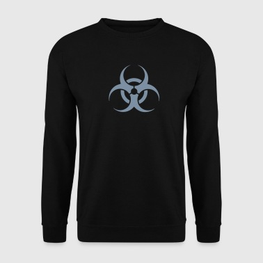danger biohazard - Sweat-shirt Homme