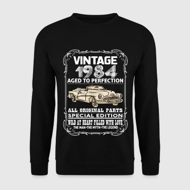 VINTAGE 1984-AGED TO PERFECTION - Men's Sweatshirt