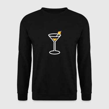 Martini Cocktail Glass - Sweat-shirt Homme