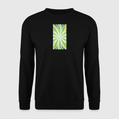 Trippy Spiral - Sweat-shirt Homme