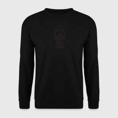 masque à gaz - Sweat-shirt Homme