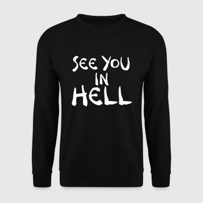 On se voit dans HELL - Sweat-shirt Homme