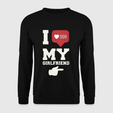I Love My Girlfriend - Bluza męska
