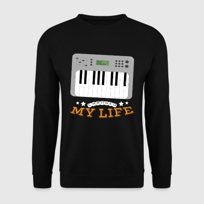 Synthesizer Changed My Life - Men's Sweatshirt