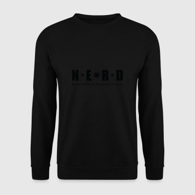 NERD BLACK - Men's Sweatshirt