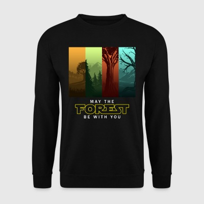 MAY THE FOREST BE WITH YOU! Wicked Design - Männer Pullover