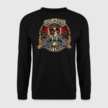 Rock And Rider Moteros Skull Color - Sudadera hombre