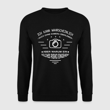 T-shirt photographier - la vie sans caméra - Sweat-shirt Homme