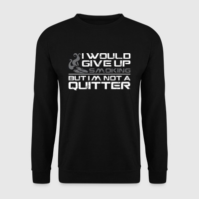 I WOULD GIVE UP SMOKING - Männer Pullover