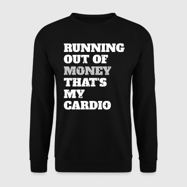 Cardio - Fun Shirt - Geld - Mannen sweater
