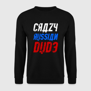Crazy Russian dude - Men's Sweatshirt