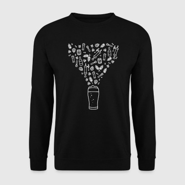 Beer universe - Men's Sweatshirt