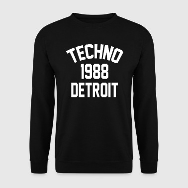 Techno 1988 Detroit - Sweat-shirt Homme