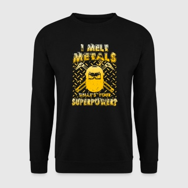 I melt Metals what´s your Superpower? - Men's Sweatshirt