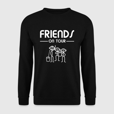 Mannen drinken bier - Friends on Tour - Mannen sweater