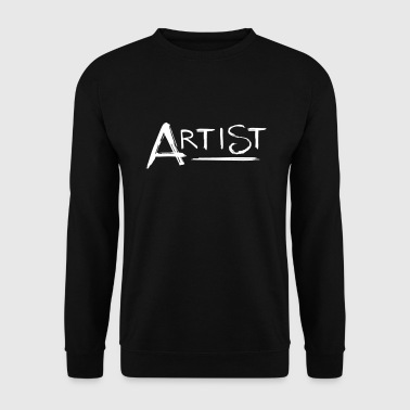 Artiste - lettrage - Sweat-shirt Homme