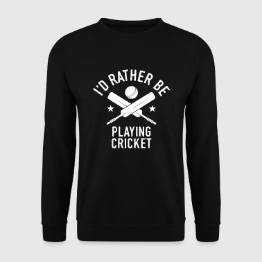 Cricket Cricket Player Player Team Spell Cool - Men's Sweatshirt