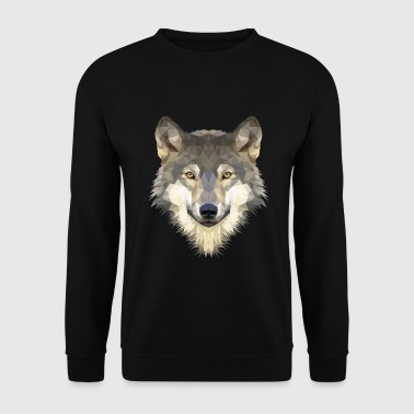 loup - Sweat-shirt Homme