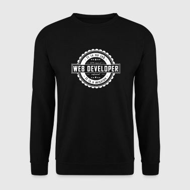 WEB DEVELOPER - Men's Sweatshirt