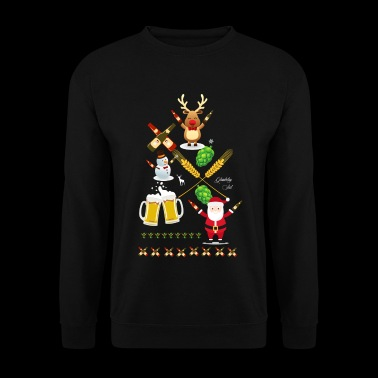 Very Ugly Christmas Beer T-shirt - Men's Sweatshirt