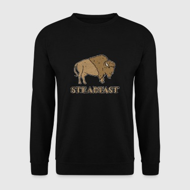 Bison Buffle Steadfast cadeau - Sweat-shirt Homme