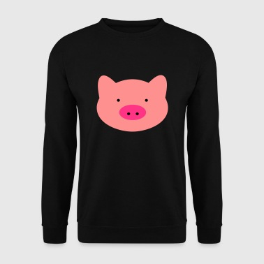 2541614 15116947 porc - Sweat-shirt Homme