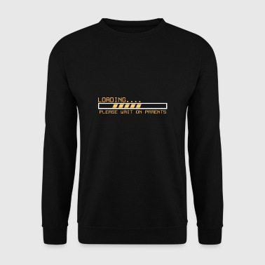Loading / Toolbar waiting for parents gift - Men's Sweatshirt