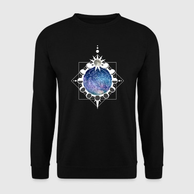 Lunar Phases and Constellations - Men's Sweatshirt