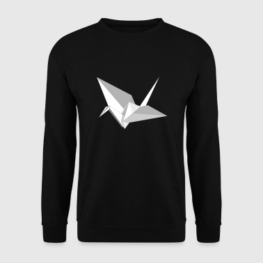 Origami grue - Sweat-shirt Homme