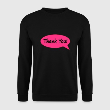 Thank you - Men's Sweatshirt
