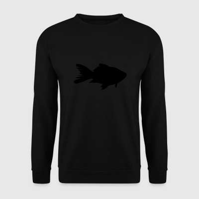 poisson rouge - Sweat-shirt Homme
