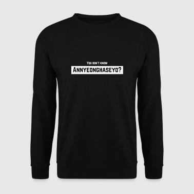 Annyeonghaseyo - Sweat-shirt Homme