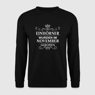 november Unicorns - Mannen sweater