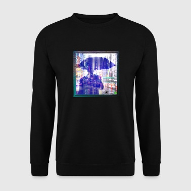 Les illusions d'optique - Sweat-shirt Homme