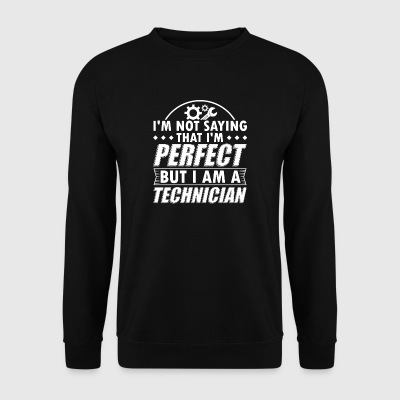 Tecnico shirt divertente Not Perfect - Felpa da uomo