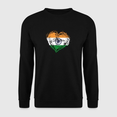 HJEMLAND ROOTS GAVE LOVE Indien - Herre sweater