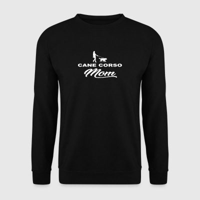 MOM MUTTER DOG HUND WOMAN CANE CORSO - Männer Pullover