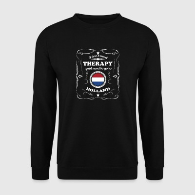 DON T NEED THERAPIE WANT GO HOLLAND - Männer Pullover