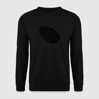dns fingeraftryk dna gave mountainbike bi - Herre sweater