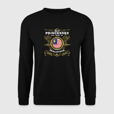 PRINCESS PRINCESS QUEEN BORN MALAYSIA - Men's Sweatshirt