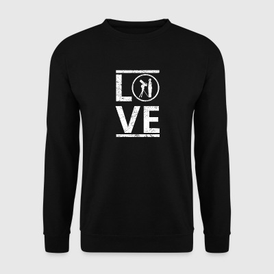 love liebe calling hobby king meister astronomie a - Männer Pullover
