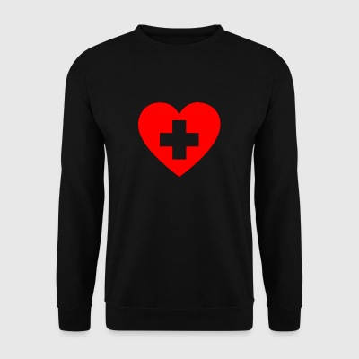 Love Switzerland - Männer Pullover