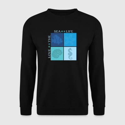 sea ​​life - Men's Sweatshirt