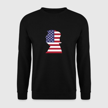 president usa - Mannen sweater