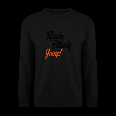 2541614 15120081 jump - Men's Sweatshirt