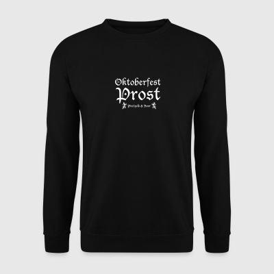 Oktoberfest cheers typo - Men's Sweatshirt