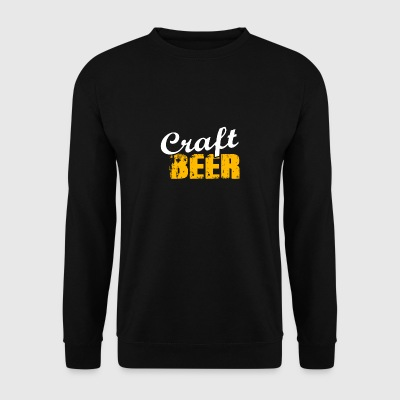 Craft beer Craftbeer beer birthday gift - Men's Sweatshirt