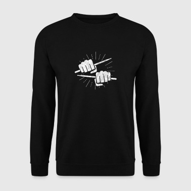 Shirt for rock - gift for drummer - Men's Sweatshirt